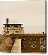 Old Fort Niagara North Redoubt Canvas Print