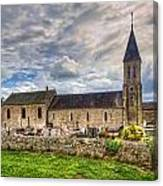 Old French Church Canvas Print