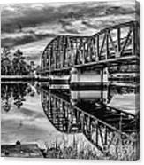 Old Georgia Florida Bridge Canvas Print