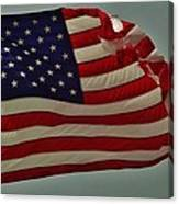 Old Glory American Flag 7 6/29 Canvas Print