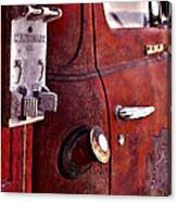 Old Glory Days Door Limited Edition Canvas Print
