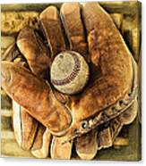 Old Gloves Canvas Print