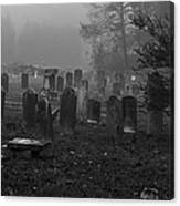 Old Graveyard Canvas Print