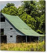 Old Gray Barn Canvas Print