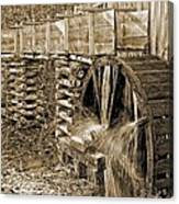 Old Grist Mill Photo Canvas Print