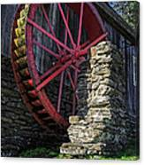Old Grist Mill Vermont Canvas Print