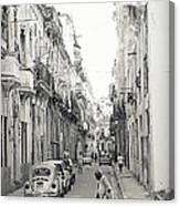Old Habana Canvas Print