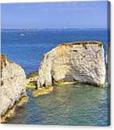 Old Harry Rocks - Purbeck Canvas Print