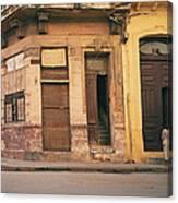 Life In Old Havana Canvas Print