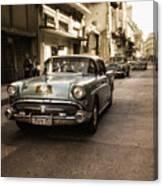 Old  Havana  Street Canvas Print