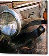Old Headlights Canvas Print