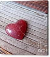 Old Heart Canvas Print