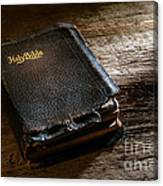 Old Holy Bible Canvas Print
