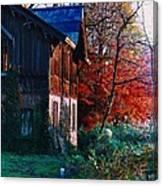 Old Home II Canvas Print