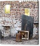 Old Home Interior Canvas Print