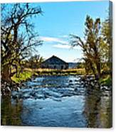 Old Homestead Along Hwy 16 Canvas Print