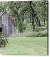 Old Horse Barn Canvas Print