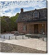 Old House At Bill Baggs Canvas Print