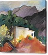 Old House In Altea La Vieja 02 Canvas Print
