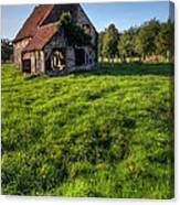 Old House In Summer  Canvas Print