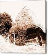 Old House Photo Canvas Print