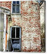 Old House Two Windows 13104 Canvas Print