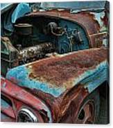 Old International Hood And Fender  Hdroc4224-13 Canvas Print