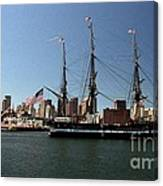 Old Iron Sides  Canvas Print