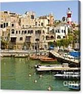 Old Jaffa Port Canvas Print