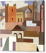 Old Jerusalem Canvas Print
