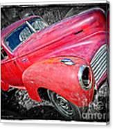 Old Junker Car Canvas Print
