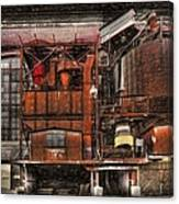 Old Kansas City Factory Building  Canvas Print