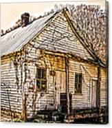 Old Kentucky Store Long Gone Canvas Print