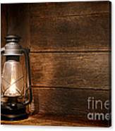 Old Kerosene Light Canvas Print