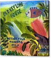 Old Key Lime House Canvas Print