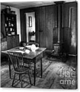 Old Kitchen Canvas Print