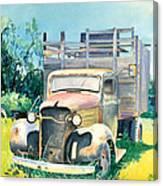 Old Kula Truck Canvas Print