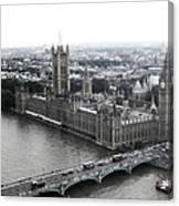 Old London .. New London Canvas Print