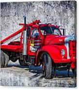 Old Mack Truck Canvas Print