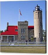 Old Mackinac Mi Lighthouse 19 Canvas Print