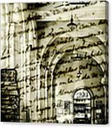 Old Mahon Town Market Canvas Print