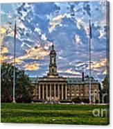 Old Main At Sunset Canvas Print