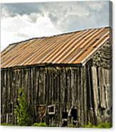 Old Maine Barn Canvas Print