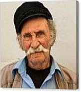 Old Man Of Mykonos Canvas Print