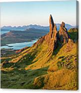 Old Man Of Storr - Pano Canvas Print