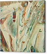 Old Man Winter Canvas Print