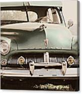 Old Mercury Tinted Canvas Print