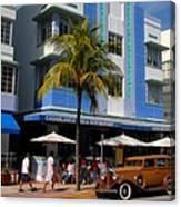 Old Miami Canvas Print