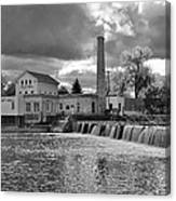 Old Mill And Banquet Hall Canvas Print