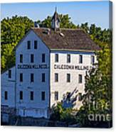 Old Mill In Caledonia Ontario Canvas Print